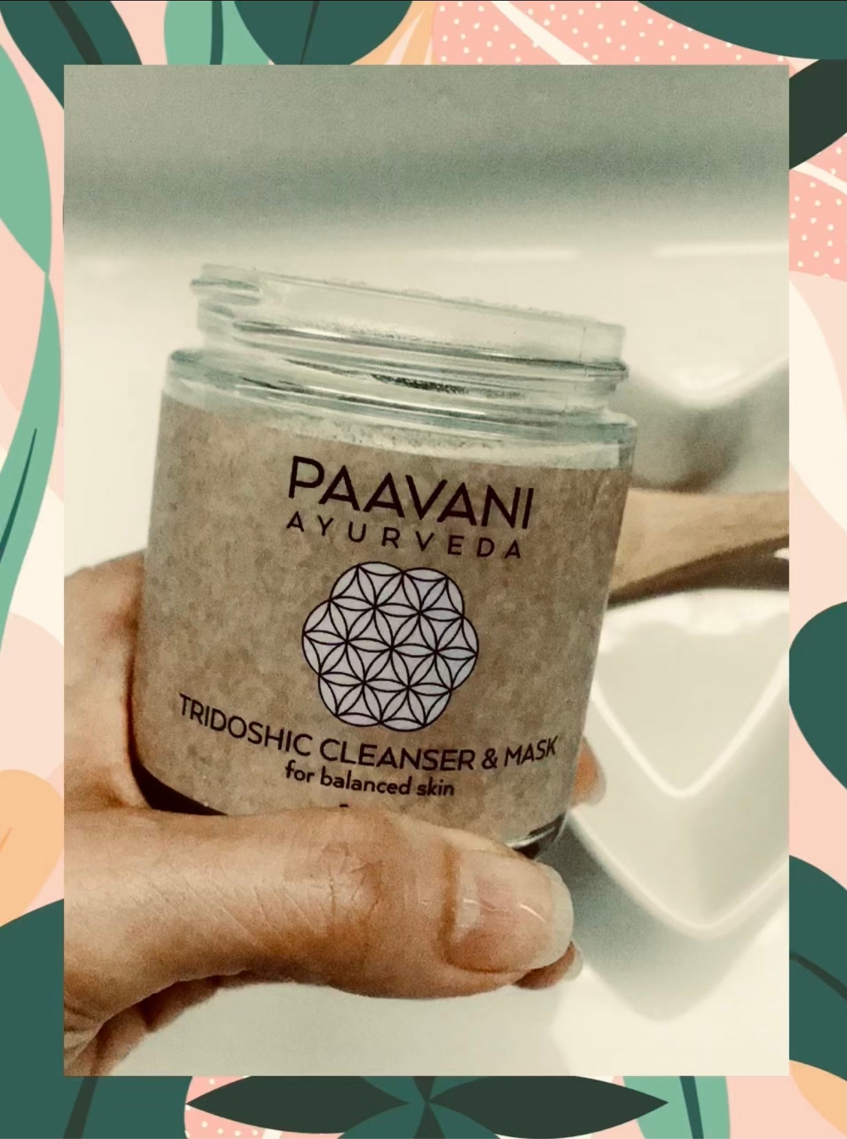 PAAVANI Ayurveda creates 2-in-1 Cleansers & Masks. Organic skin care. Made in US. Face Cleanser. Available at BeautyKat.com.