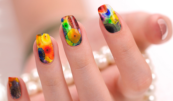 Candied Nails Watercolor Nail Wraps