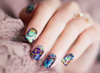 Candied Nails Bonjour Nail Wraps