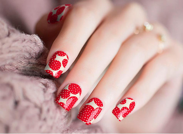 Candied Nails Strawberry Jam Nail Wraps