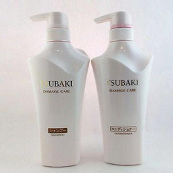 Shiseido FT Tsubaki Damage Care Hair Set (Shampoo+Conditioner 500ml each) - BeautyKat