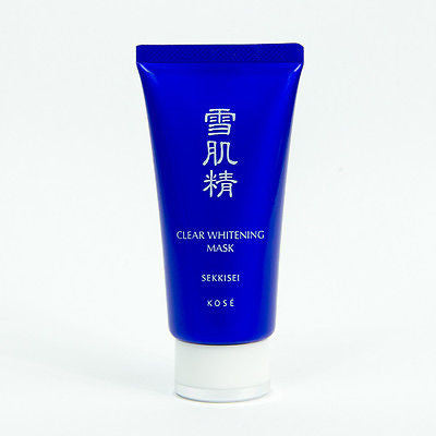 Kose Sekkisei Clear Whitening Mask, remove blackheads, dead skin (76ml) - BeautyKat