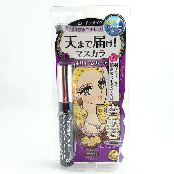 Isehan Kiss Me Heroine Make Volume & Curl Mascara Black #01 - BeautyKat