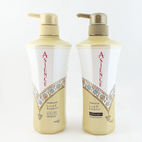 Kao Asience Inner Rich or Natural Smooth Shampoo or Conditioner (45ml or 480ml)