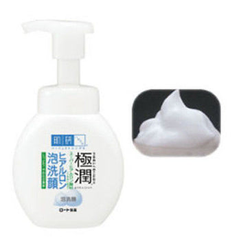 Rohto Hada Labo Gokujyun Hyaluronic Cleansing Foam 160ml - BeautyKat