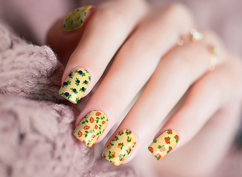 Candied Nails Wallpaper Nail Wraps.