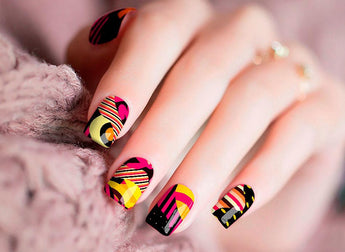 Candied Nails Crazy Eight Nail Wraps