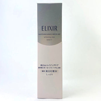 Shiseido Elixir Whitening & Skin Care By Age Whitening Clear Lotion II (Moist Toner 170ml) - BeautyKat