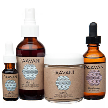 PAAVANI Ayurveda The Clarify Skincare Ritual