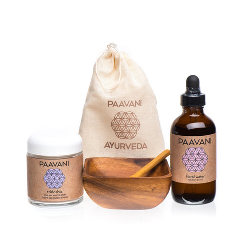 PAAVANI Ayurveda The Cleanser & Mask Ritual