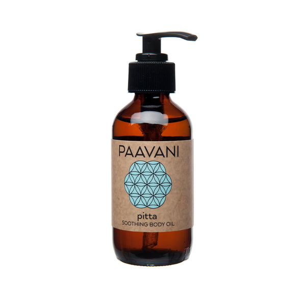 PAAVANI Ayurveda Pitta Body Oil (Sensitive Skin)