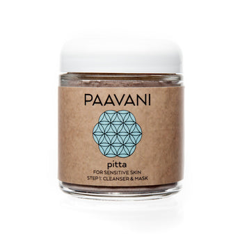 PAAVANI Ayurveda Pitta Cleanser & Mask (Sensitive Skin)