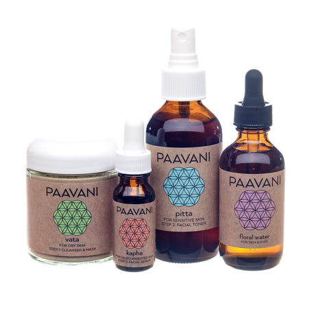 PAAVANI Ayurveda The Mix & Match Skincare Ritual