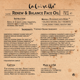 Laloirelle Renew & Balance Face Oil.
