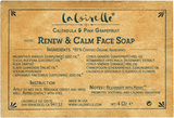 Laloirelle Renew & Calm Face Soap for oily and combination skin.