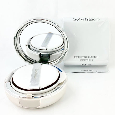 Final Sale: Sulwhasoo Perfecting Cushion Brightening 15g 2pcs With Case - BeautyKat