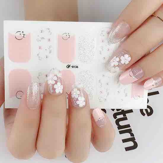 Candied Nails Baby Girl Gel Nail Wraps