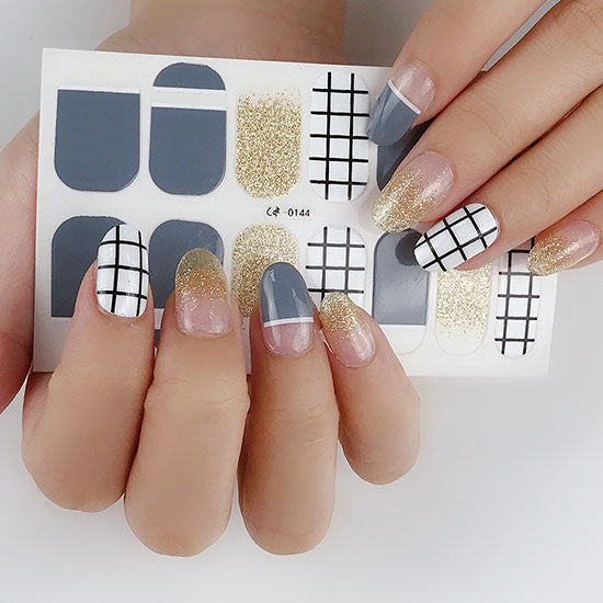 Candied Nails Paper Moon Gel Nail Wraps.