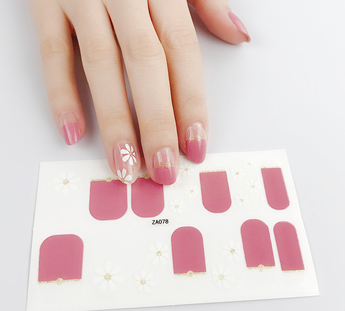 Candied Nails Lovey Gel Nail Wraps.