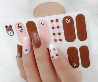 Candied Nails Bear Hug Gel Nail Wraps
