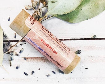 Butter Me Up Organics Kissable Lips Chapstick Lip Balm