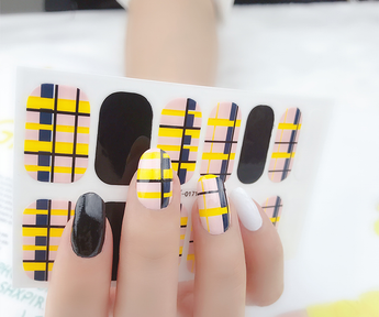 Candied Nails Cell Block Gel Nail Wraps.