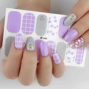 Candied Nails Heart Me Gel Nail Wraps.