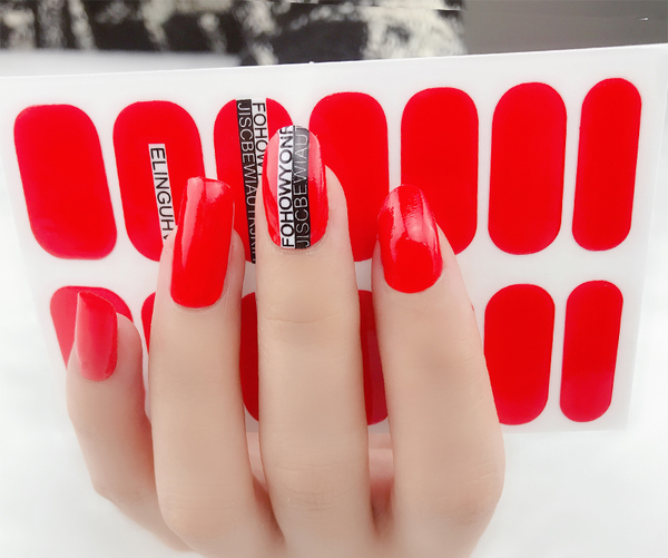 Candied Nails Travel Along Gel Nail Wraps.