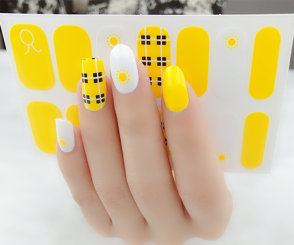 Candied Nails Summertime Gel Nail Wraps.