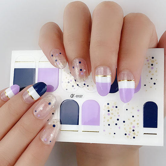 Candied Nails Lavendar Love Gel Nail Wraps