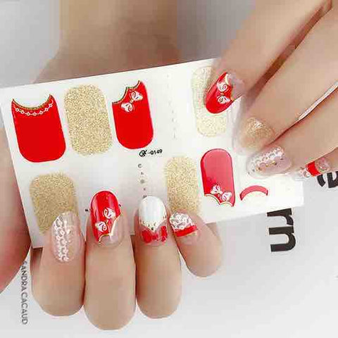 Candied Nails A Gift For You Gel Nail Wraps.