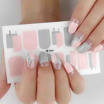 Candied Nails Subtle Hues Gel Nail Wraps.