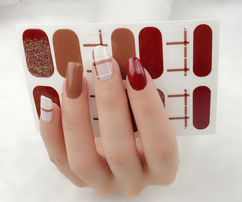 Candied Nails Touch of Love Gel Nail Wraps