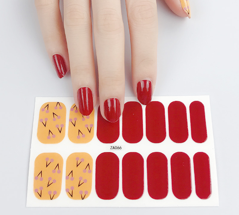Candied Nails Rosy Cheeks Gel Nail Wraps