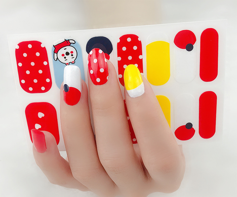 Candied Nails Happy Times Gel Nail Wraps