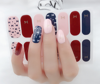 Candied Nails Bow Tie Gel Nail Wraps
