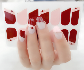 Candied Nails Love Dot Gel Nail Wraps.