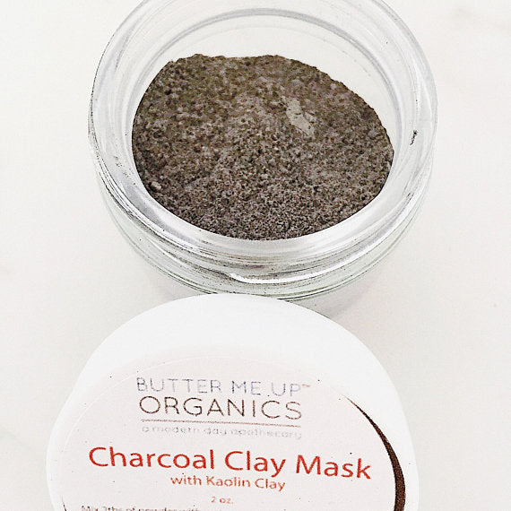 Butter Me Up Organic Charcoal Mask / Activated Charcoal Mask /