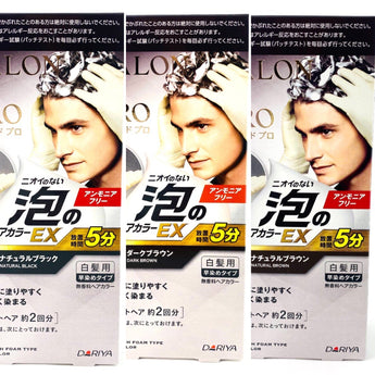 Dariya Japan Salon De Pro Bubble Hair Color EX Mens Speedy #5,6,7