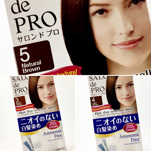 Dariya Japan Salon De Pro Hair Dye Non Smell Cream