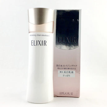 Shiseido Elixir Whitening & Revitalizing Care Whitening Clear Emulsion C I 130ml - BeautyKat