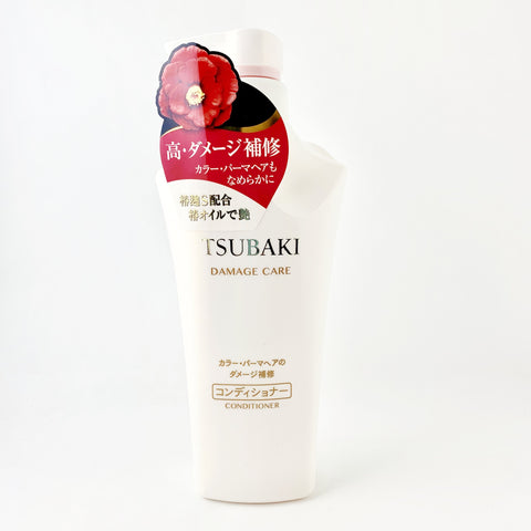 Shiseido FT Tsubaki Damage Care Hair Conditioner 500ml, Japan - BeautyKat