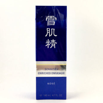 Kose Sekkisei Whitening Enriched Emulsion 140ml - BeautyKat