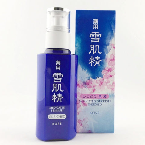 Kose Medicated Sekkisei Enriched Emulsion 140ml - BeautyKat