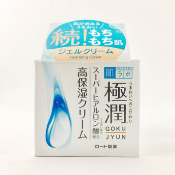 Rohto Hadalabo Gokujyun Hyaluronic Gel Cream 50ml - BeautyKat