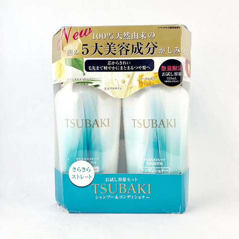 Shiseido Tsubaki Smooth Care Shampoo+Conditioner 315ml each - BeautyKat