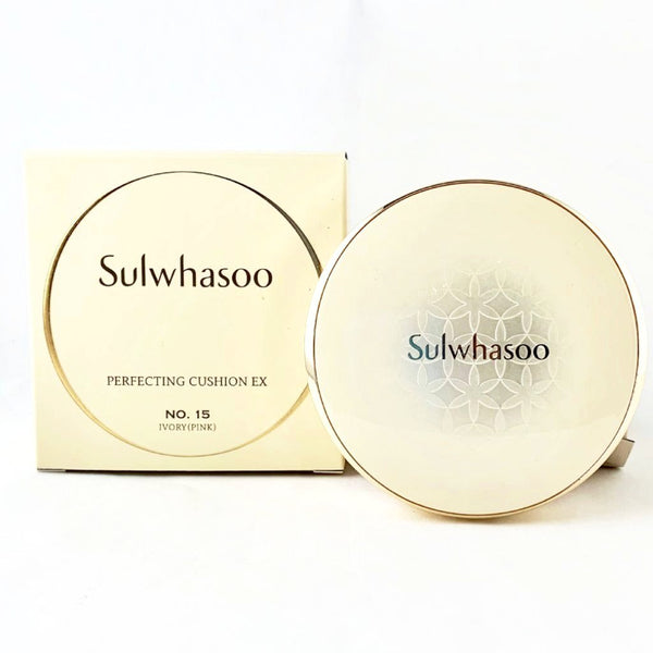 Final Sale: Sulwhasoo Perfecting Cushion EX 15g 2pcs With Case - BeautyKat