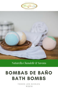 Tutorial de Bombas de Baño - Bath Bombs