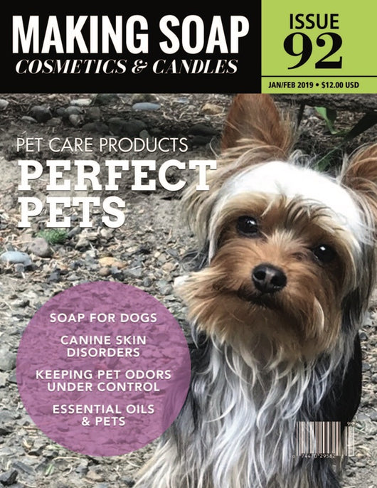 Revista Making Soap Cosmetics & Candles Magazine