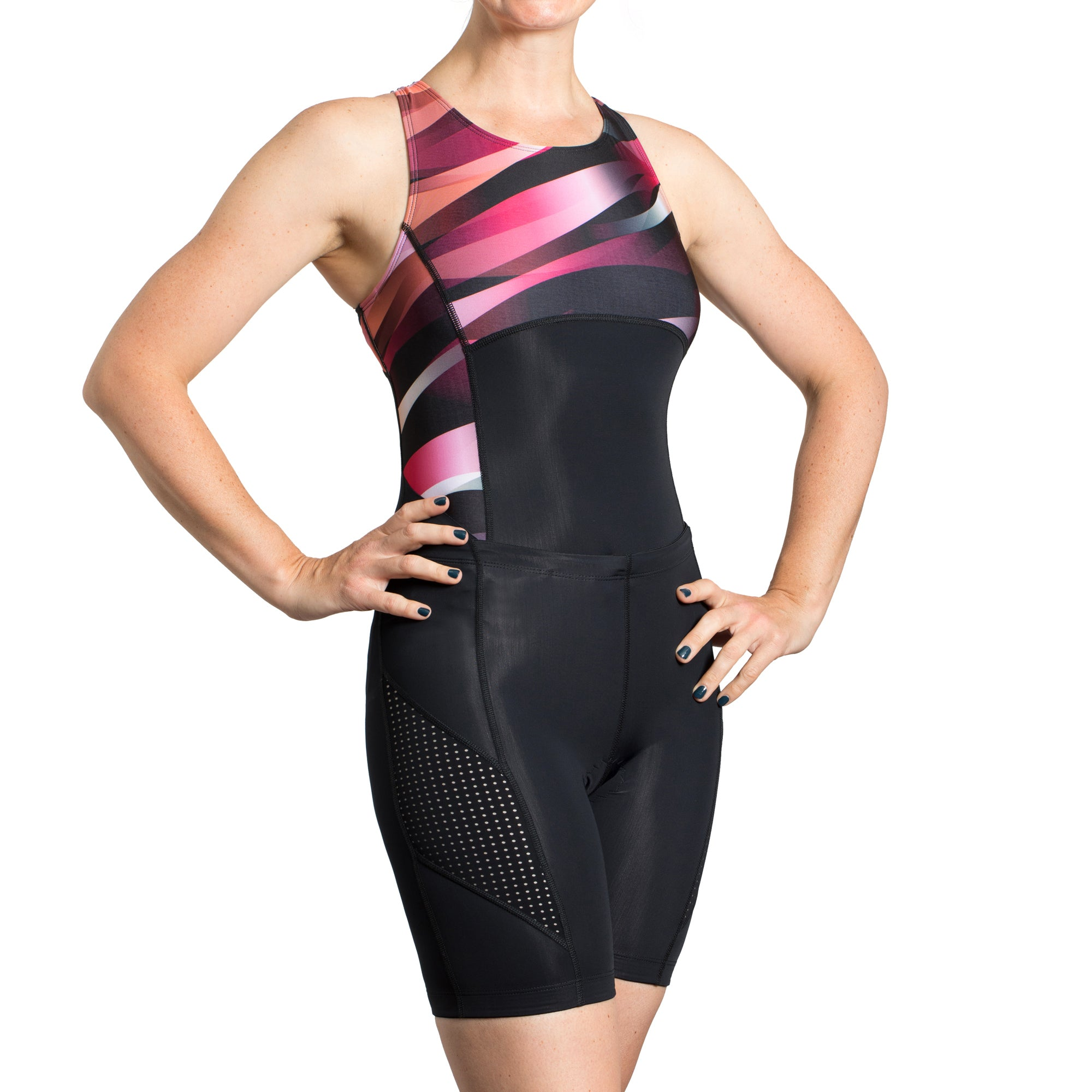 Triathlon swimsuit and triathlon shorts. Very versatile, now on sale!